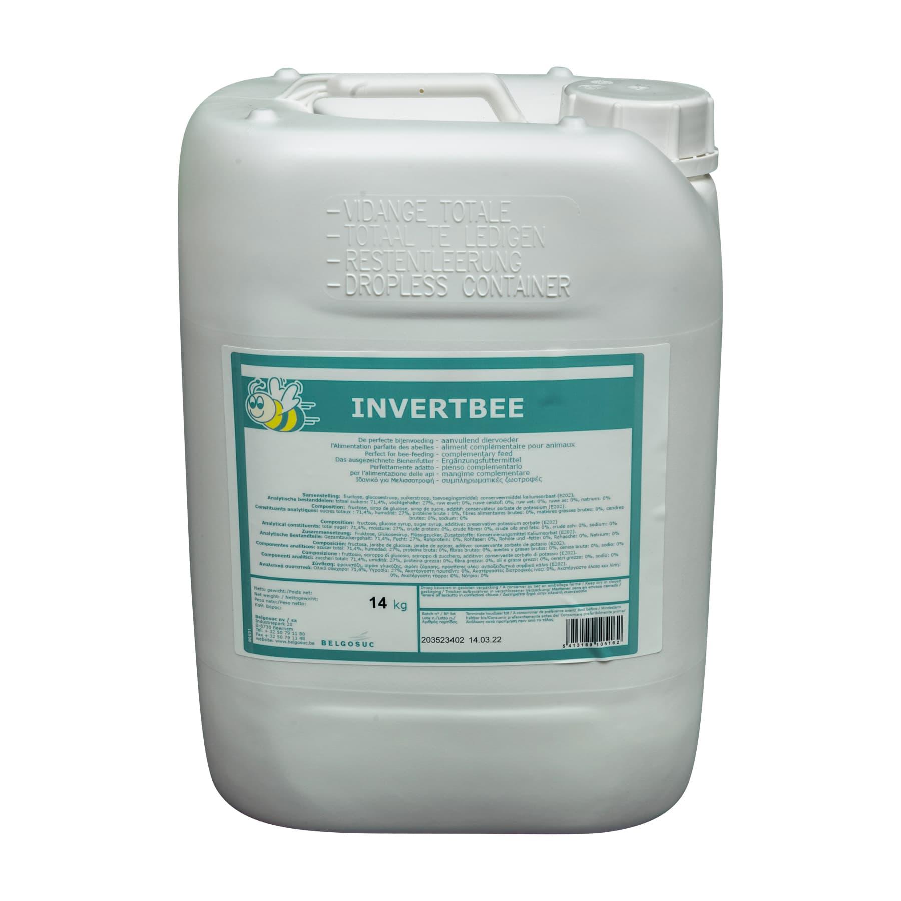 Bienenfuttersirup Invertbee 14 kg Kanister, derzeit ausverkauft