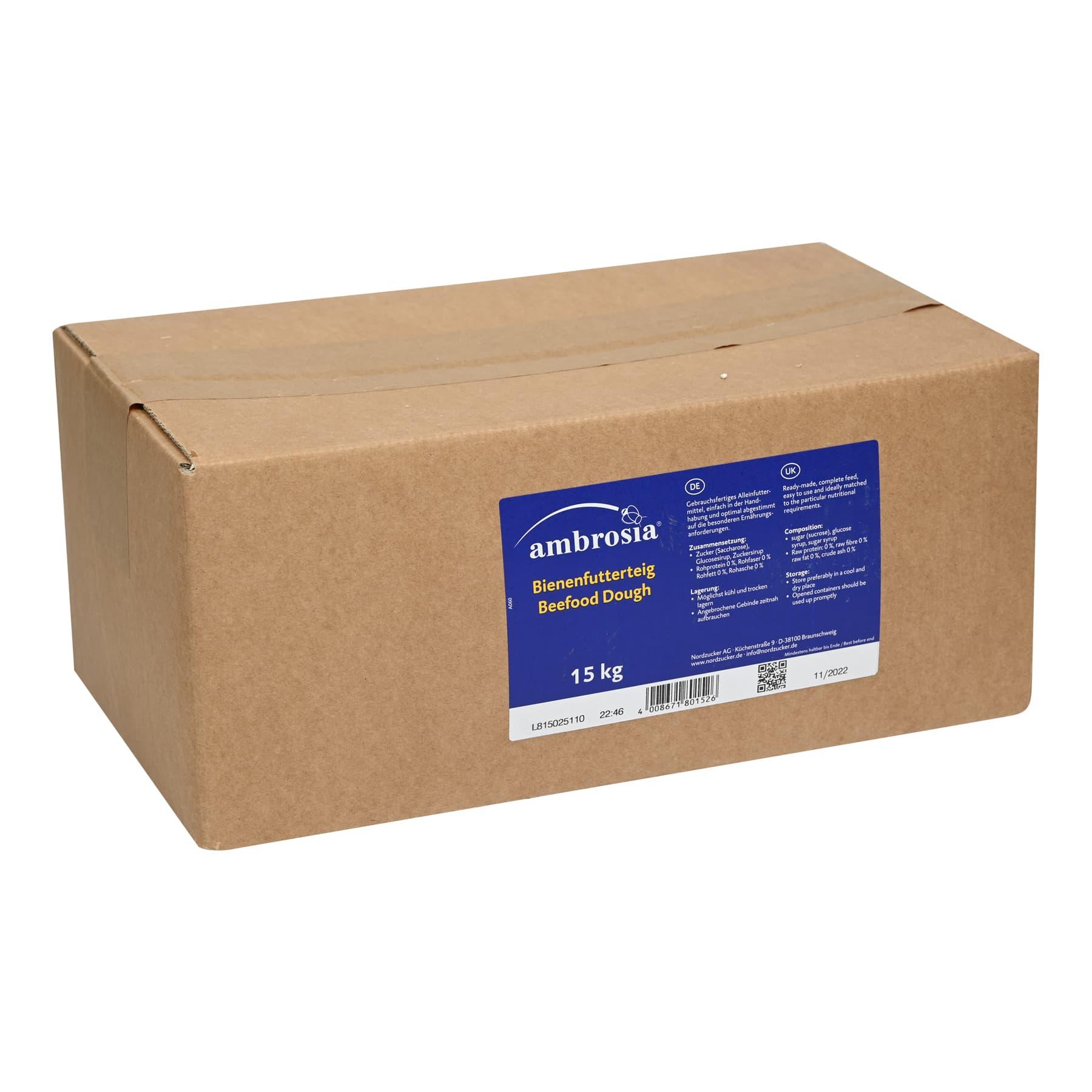 Ambrosia Futterteig 15 kg