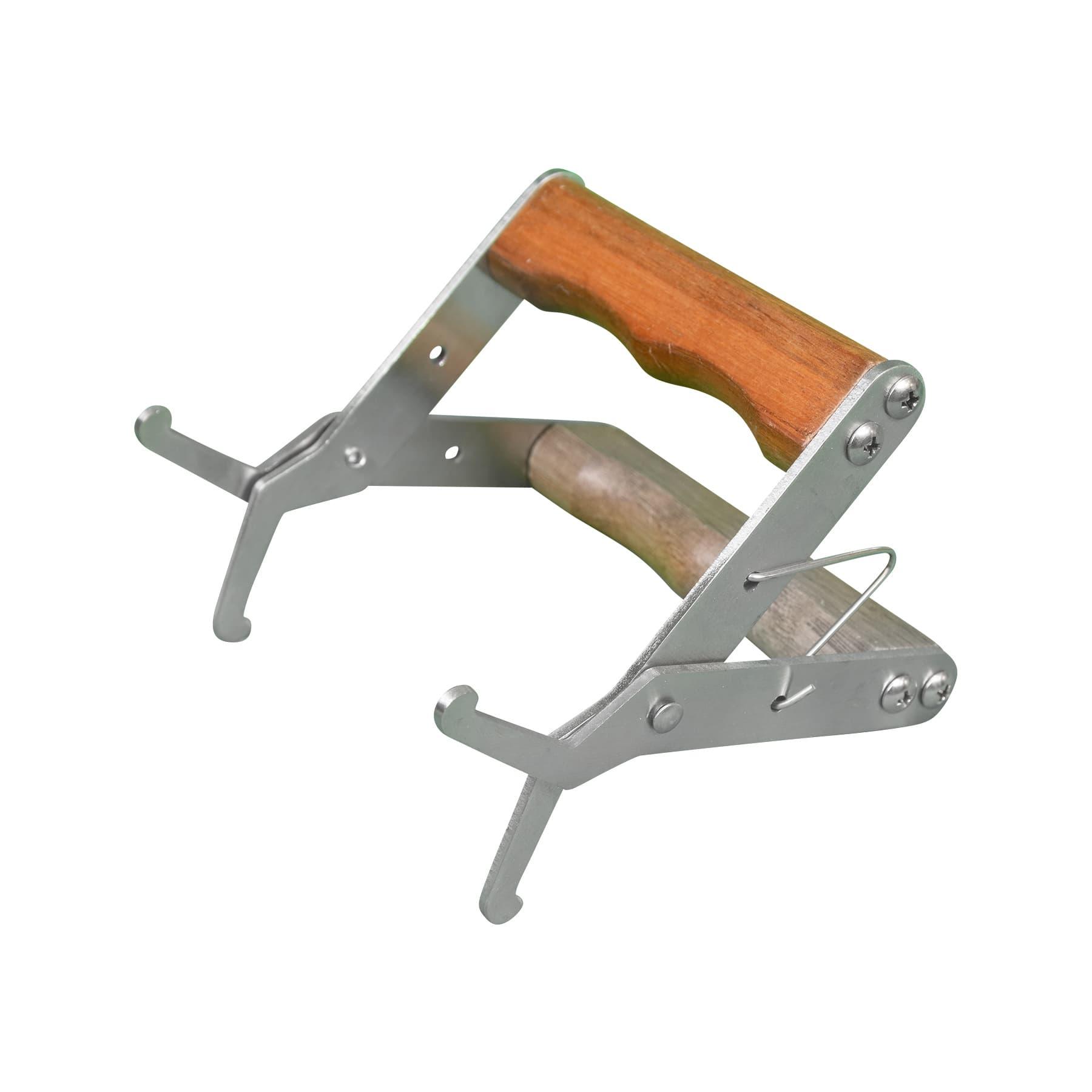 Wabenzieher (Rähmchenzieher) Komfortausführung mit breitem Holzgriff, nicht für dicke, mod. Rähmchenoberträger geeignet