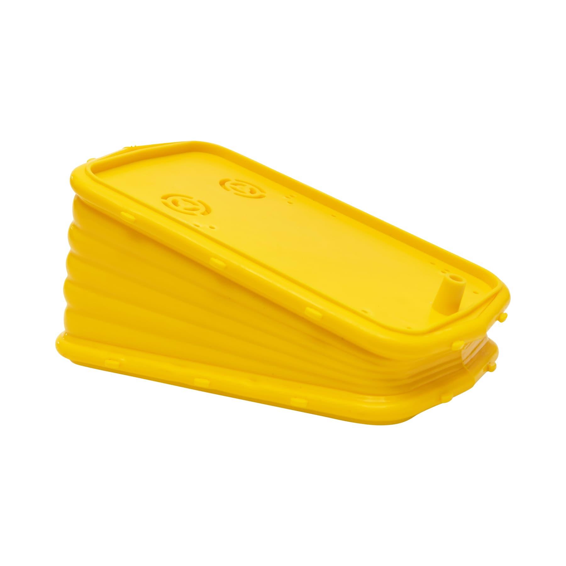 Ersatz-Blasebalg vollständig aus gelbem Kunststoff Smoker/Rauchbläser
