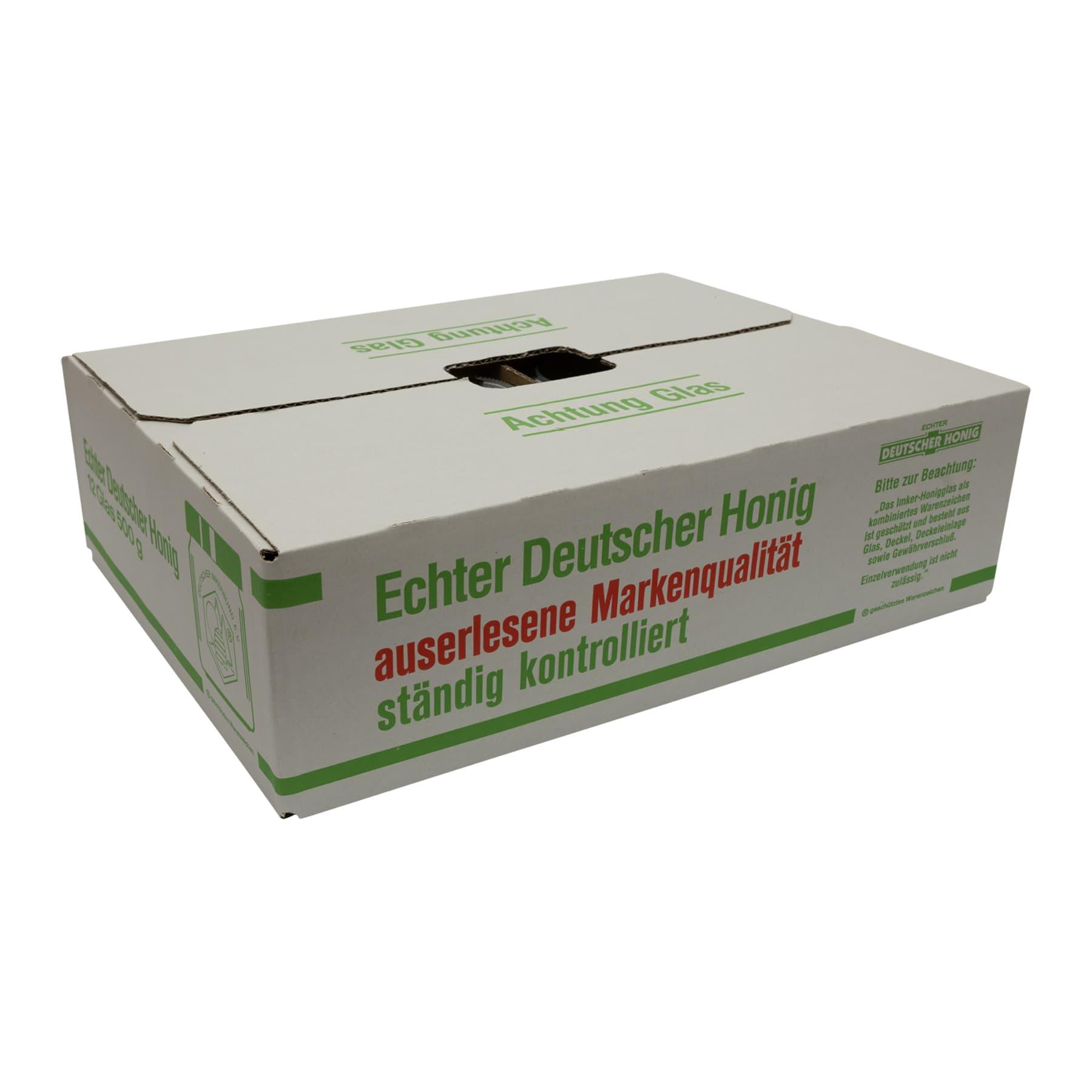 DIB-Gläser 500 g 1 PAL(2244 Stk) inkl. Deckel u. Umkarton, bundesweit FREI HAUS