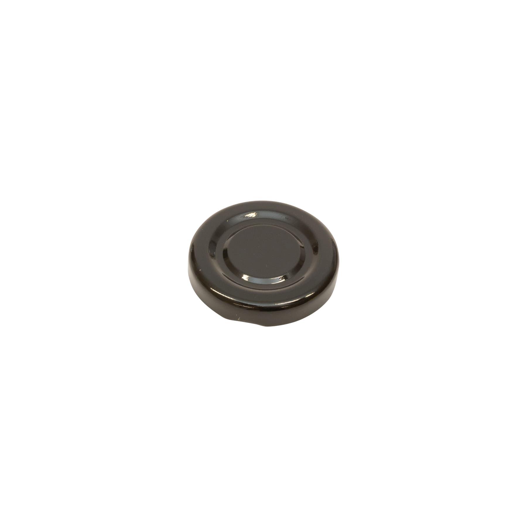 Twist Off Deckel schwarz 43 mm