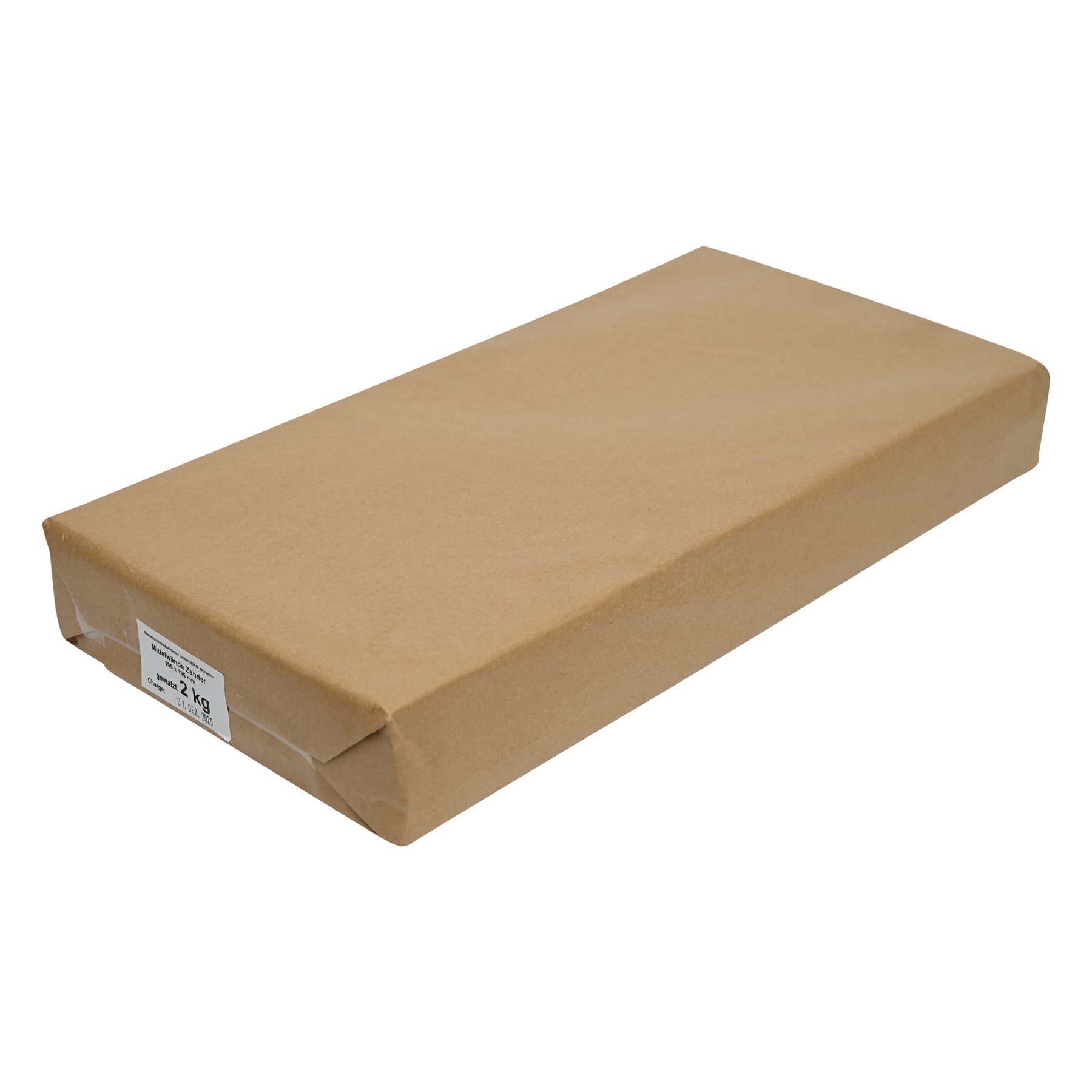 kg Mittelwände standard, (braunes Papier) Kuntsch hoch 310 x 230 mm, Preis je kg,