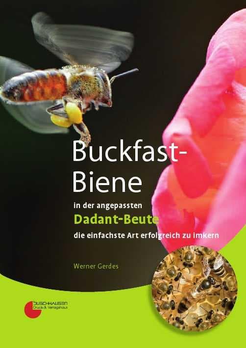 Buckfast-Biene in der angepassten Dadan-Beute, W.Gerdes, Buschhausen Verlag
