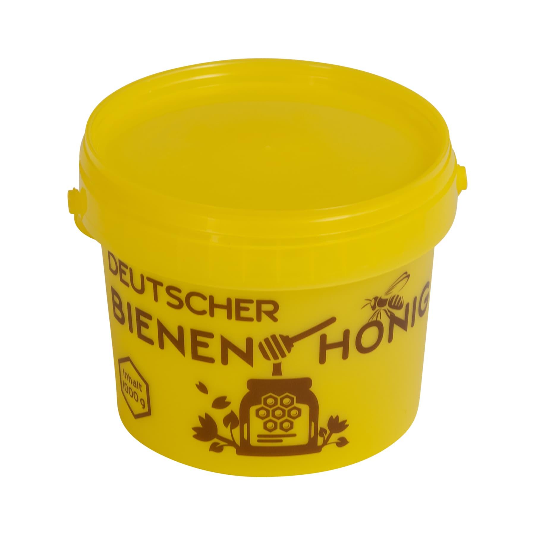 Honigeimerchen 1 kg aus Kunststoff