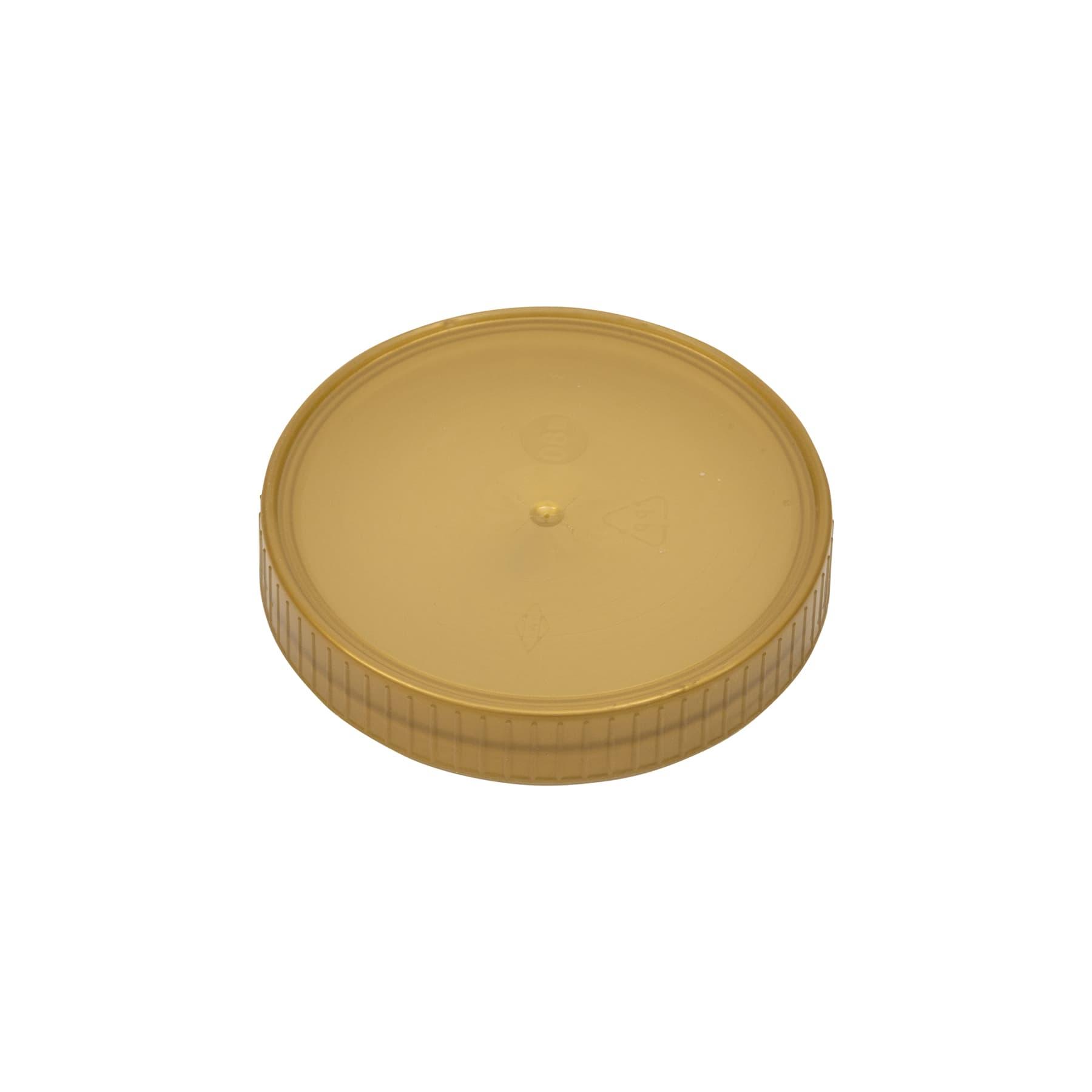 Schraubdeckel Kunststoff 80 mm, gold
