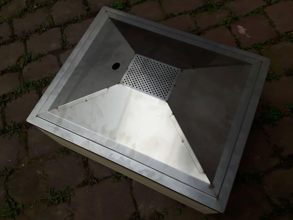 Wachsschmelztrichter für Zanderbeute Liebig 42 x 52 cm