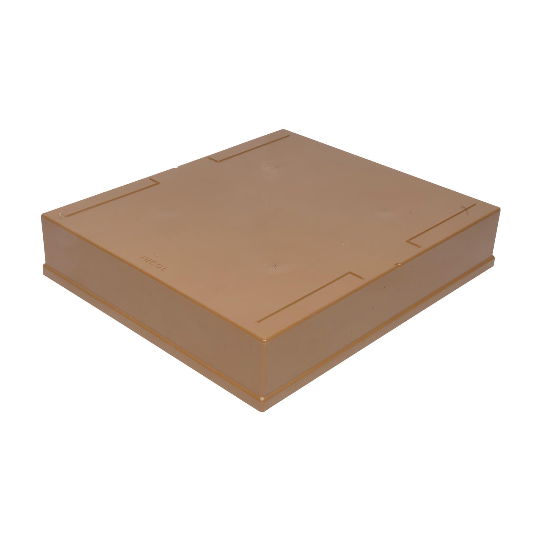 Nicot Deckel für Dadantzarge Kunststoff, Dadant Blatt 10 Waben