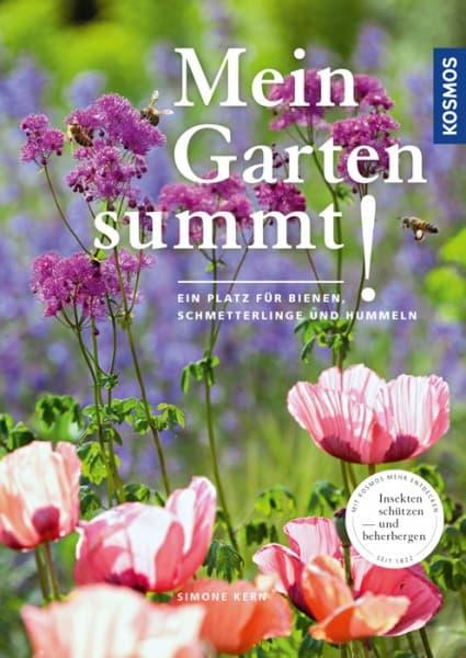 Mein Garten summt - Ein Platz für Bienen, Hummeln und Schmetterlinge, Simone Kern, Kosmos Verlag