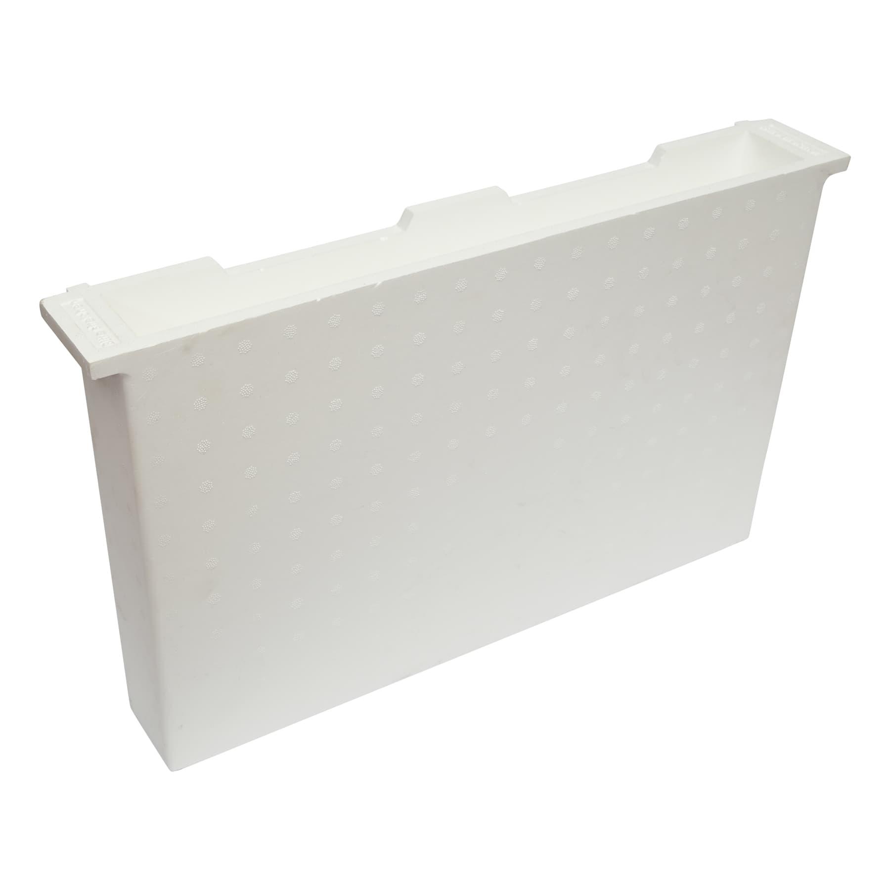 Futtertasche aus Styropor Dadant modifiziert (US) 70 mm breit (entspricht 2 Rähmchen), Herstellernr. 11221B