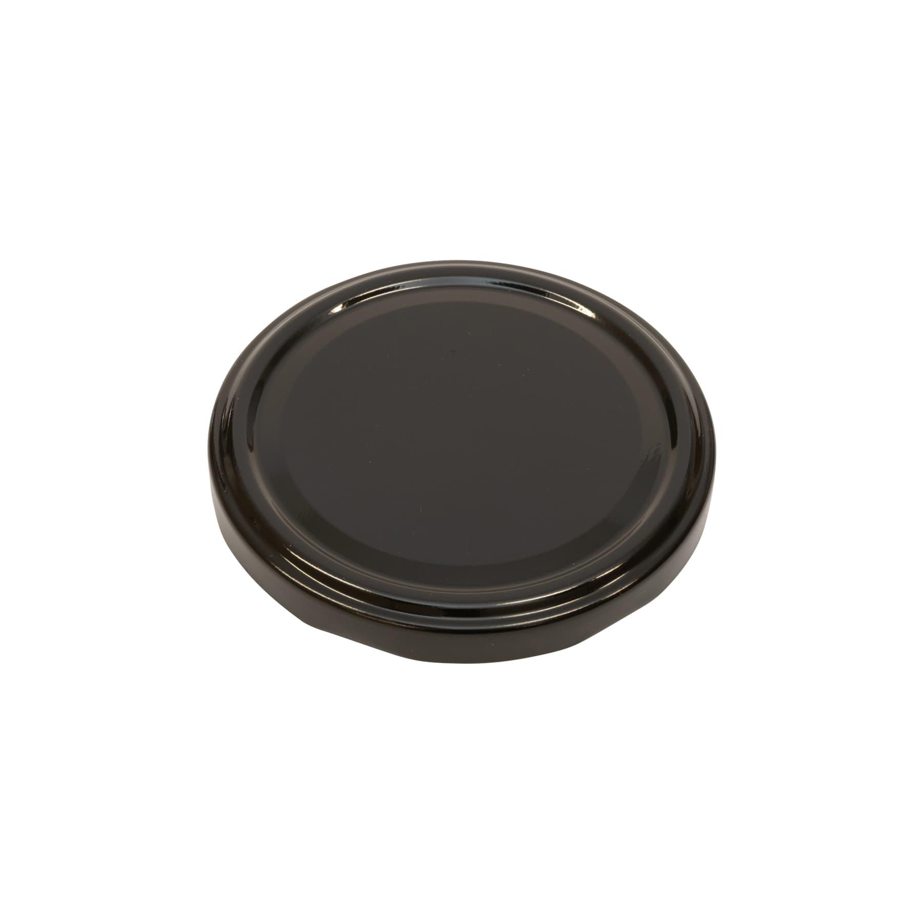 Twist Off Deckel metall 82 mm schwarz