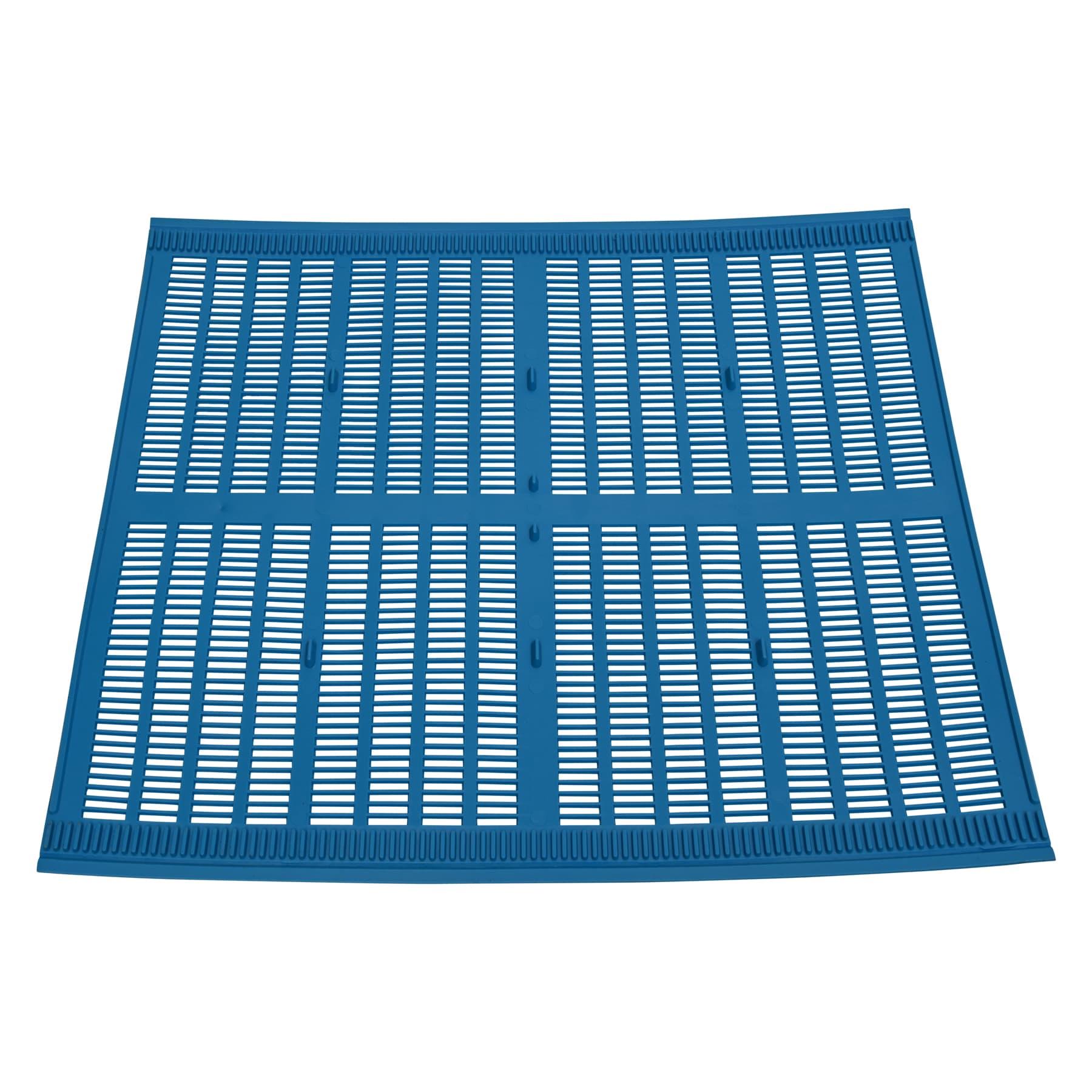 Propolis Gitter 420 mm x 500 mm Dadant Blatt blau