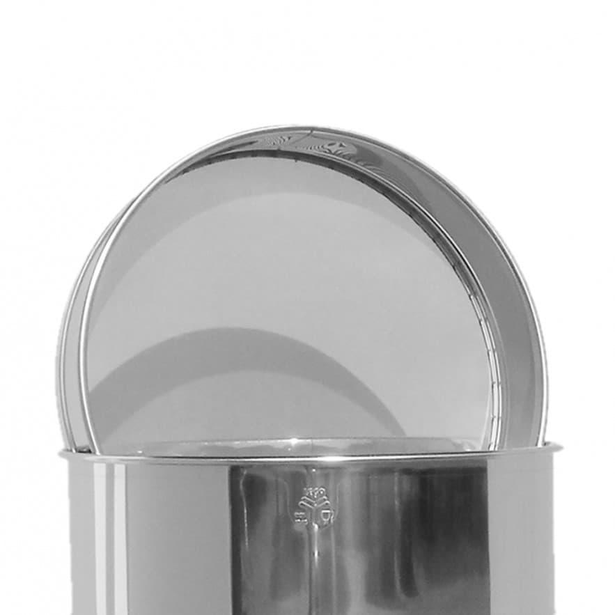 Sieb aus Edelstahl, für 100 kg Abfüllbehälter, Original Lega ArtNr. 6025