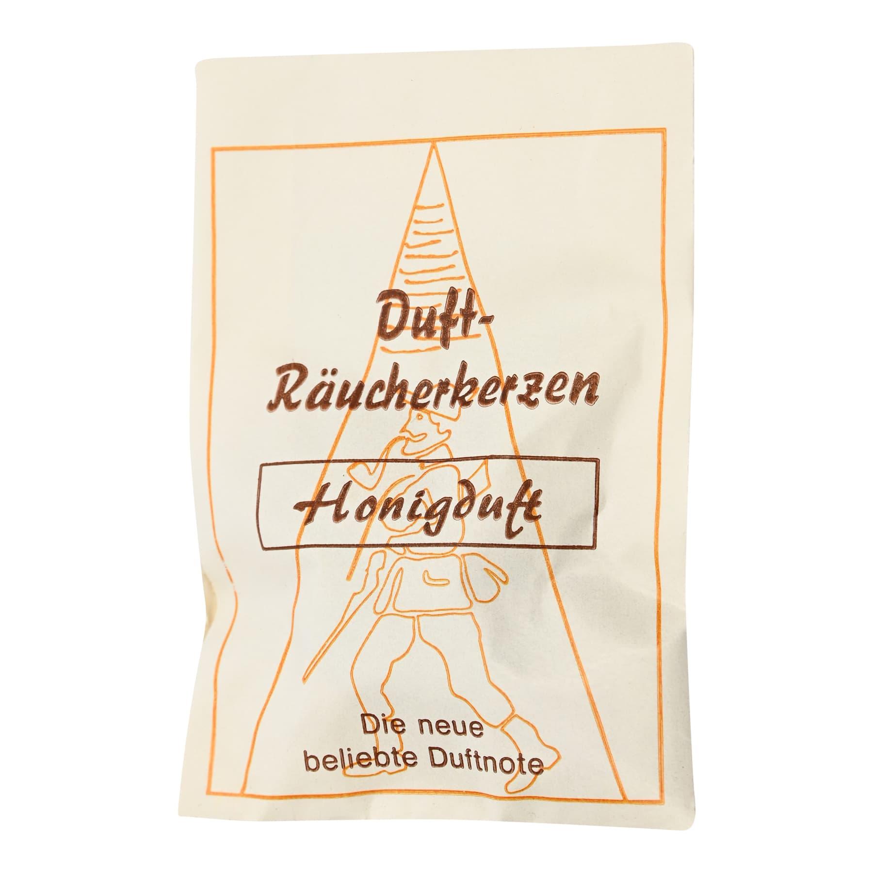 """Carl Jäger Räucherkerzchen """"Honigduft"""", Tütchen mit 6 Kegeln"""