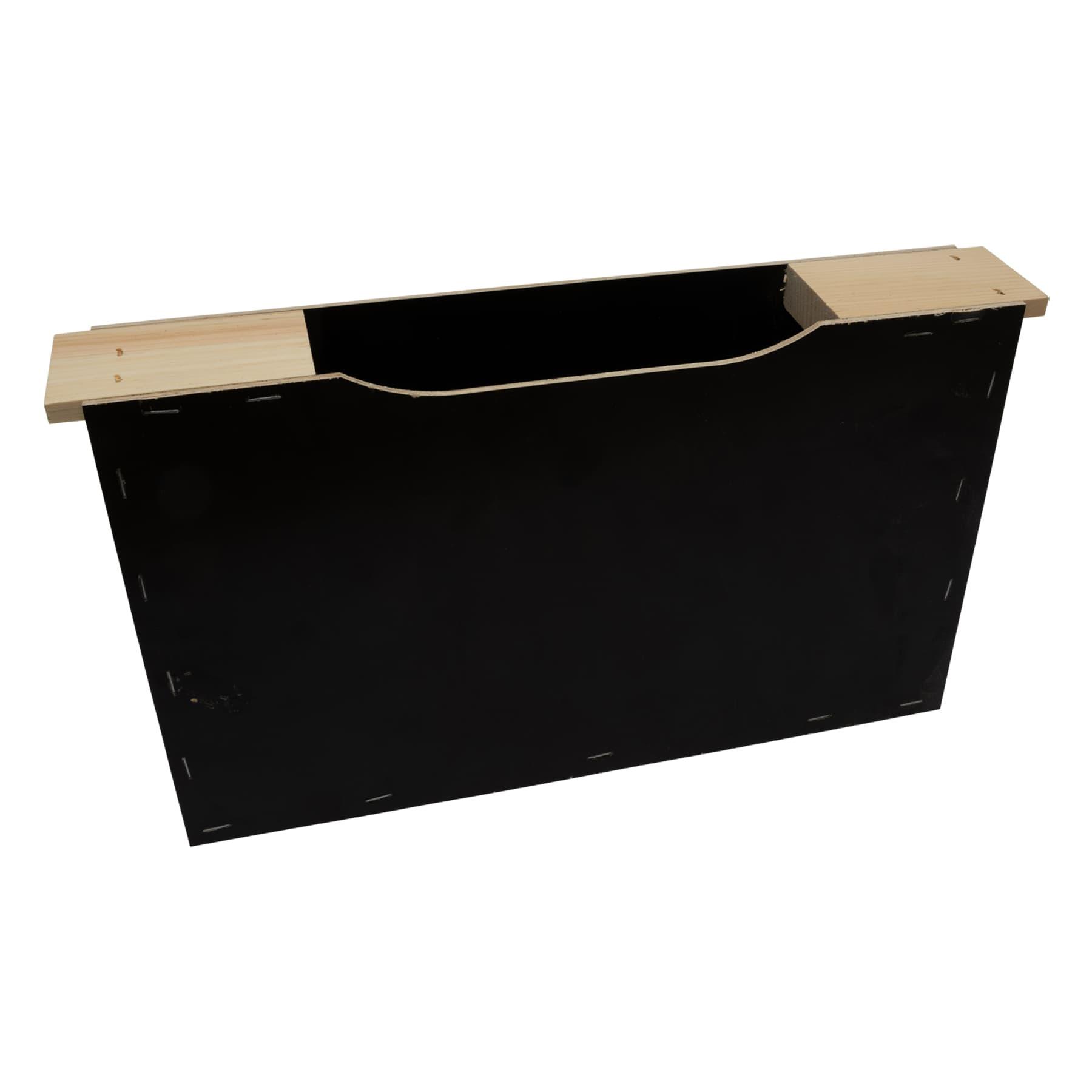 Futtertasche Holz Zander 2 Waben, Breite ca. 6,5 cm