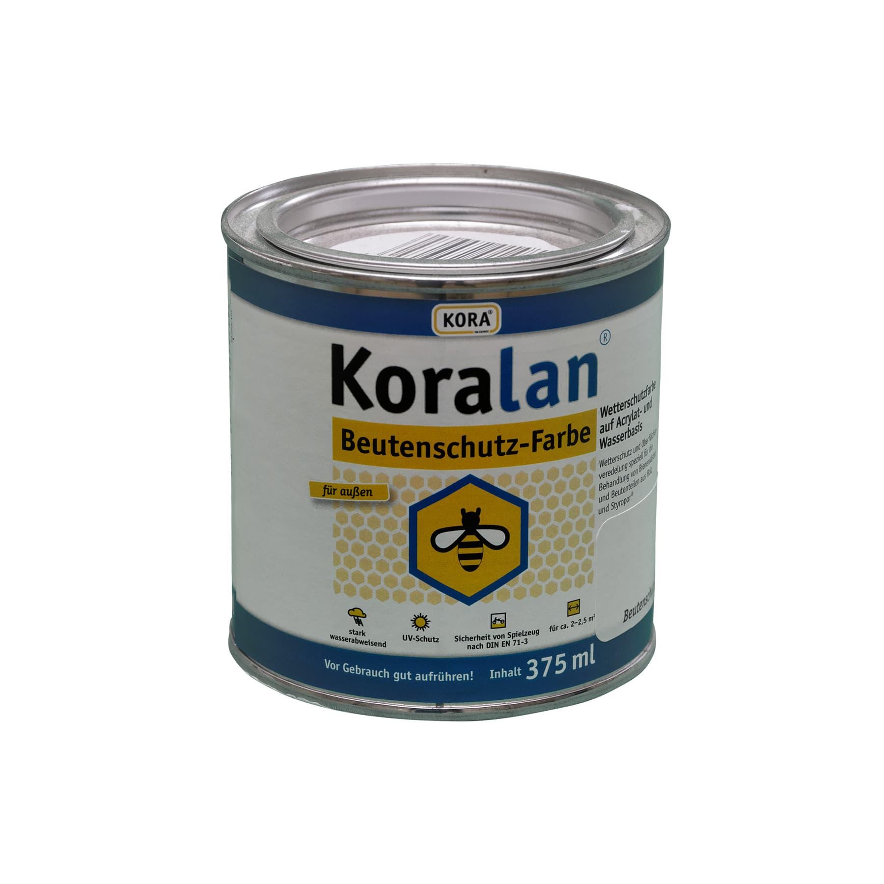 Koralan Beutenschutzfarbe blau 375 ml