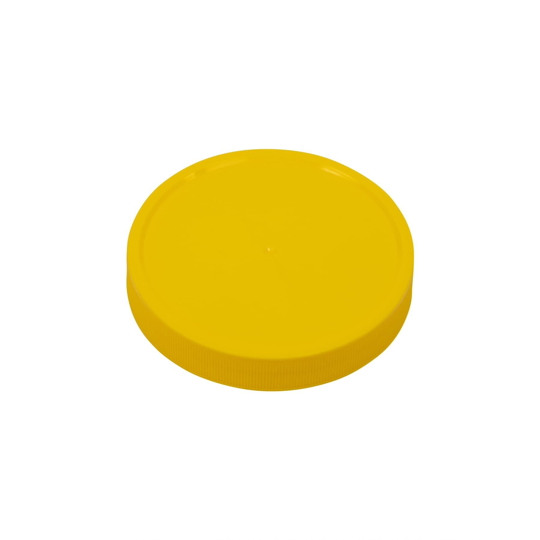 Schraubdeckel Kunststoff 80 mm, gelb