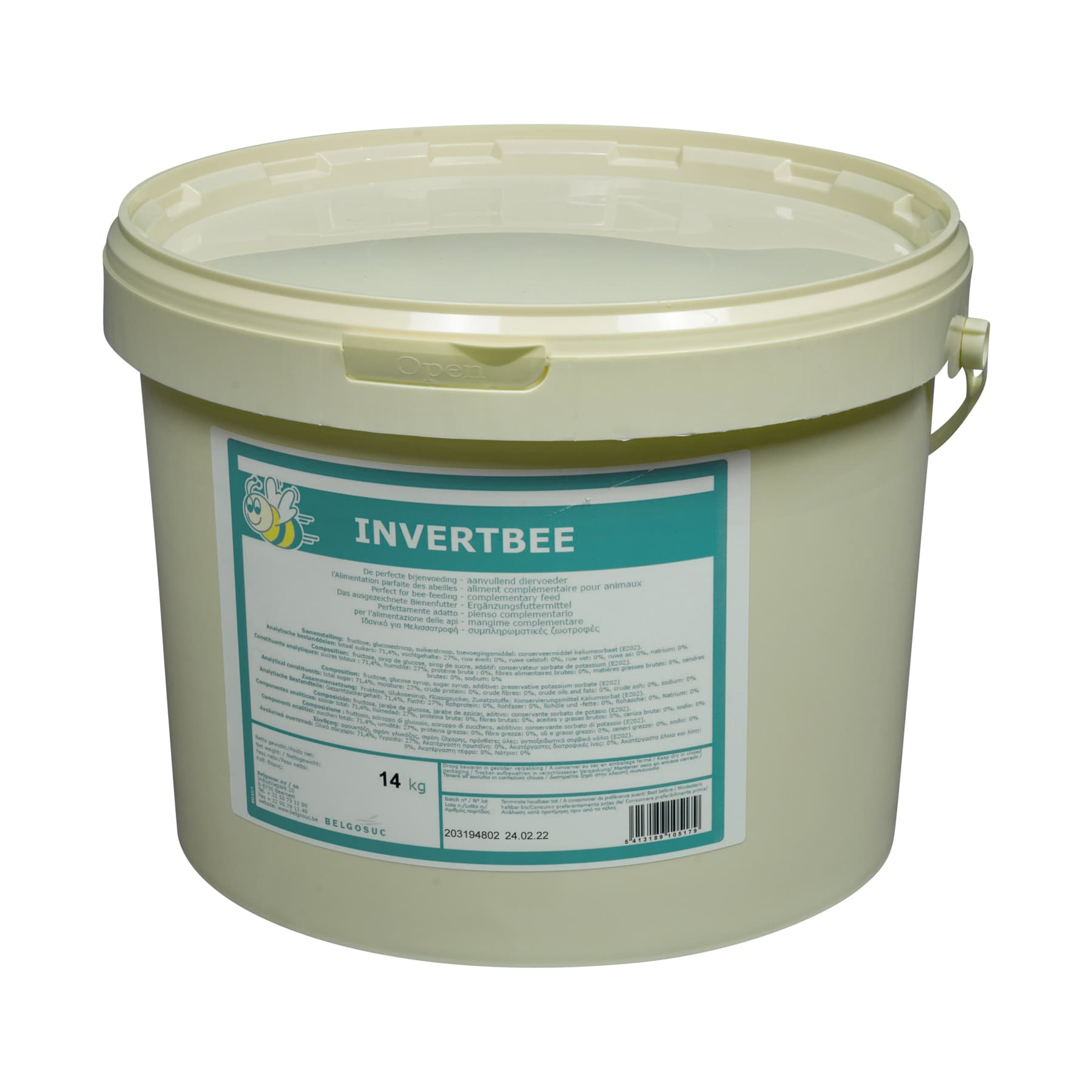 Bienenfuttersirup Invertbee 14 kg Eimer