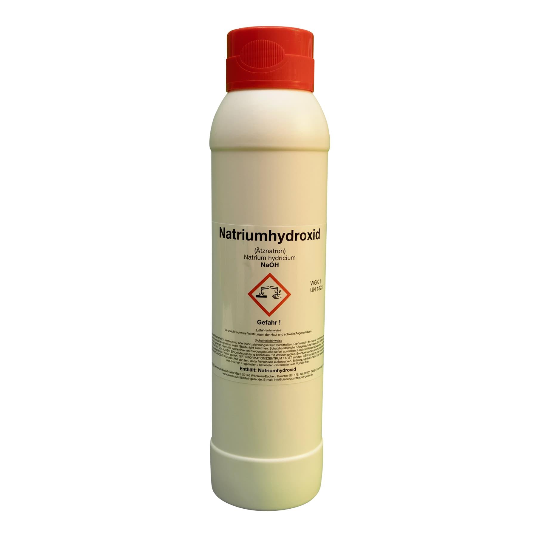 Ätznatron, NaOH, Natriumhydroxid, 1 kg