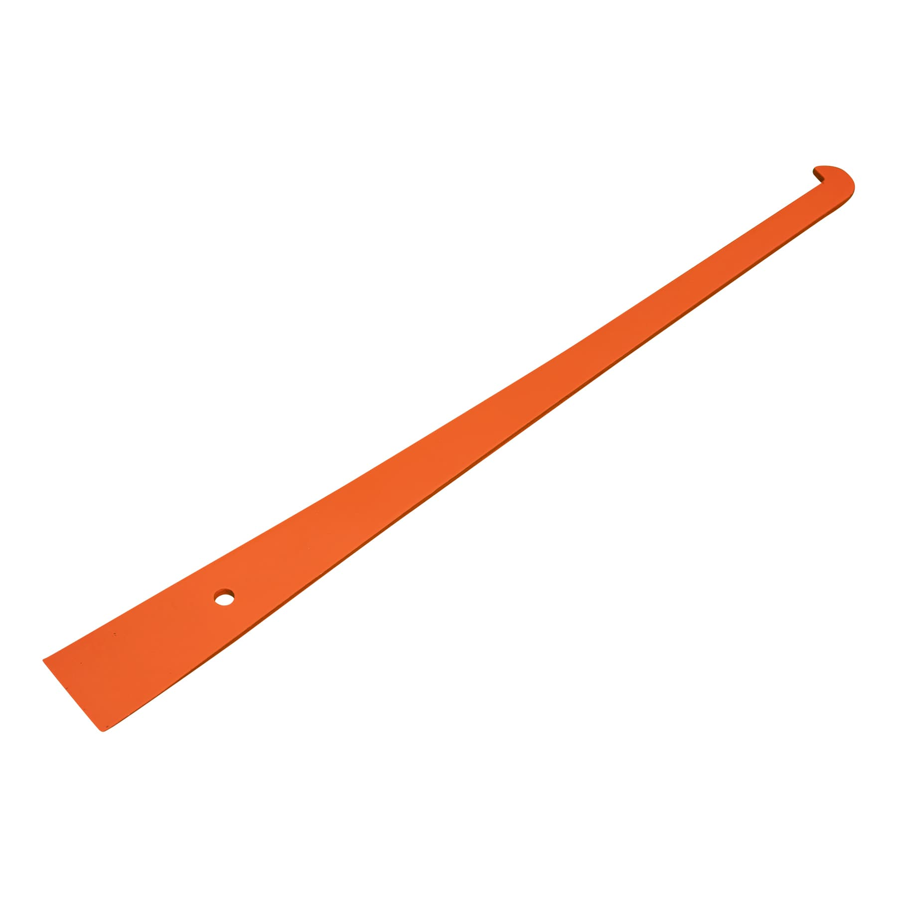 Stockmeissel schmal und extra lang, 31 cm lang, orange