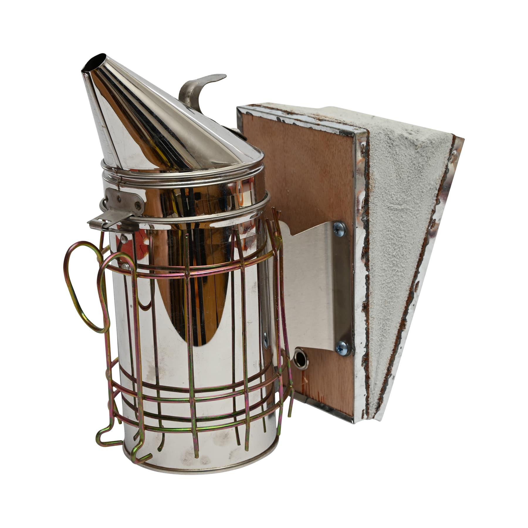 Edelstahl-Smoker, (Rauchbläser) 8 cm Durchmesser