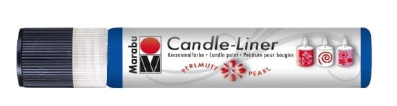 Candle - Liner, 25 ml von Marabu 052 mittelblau