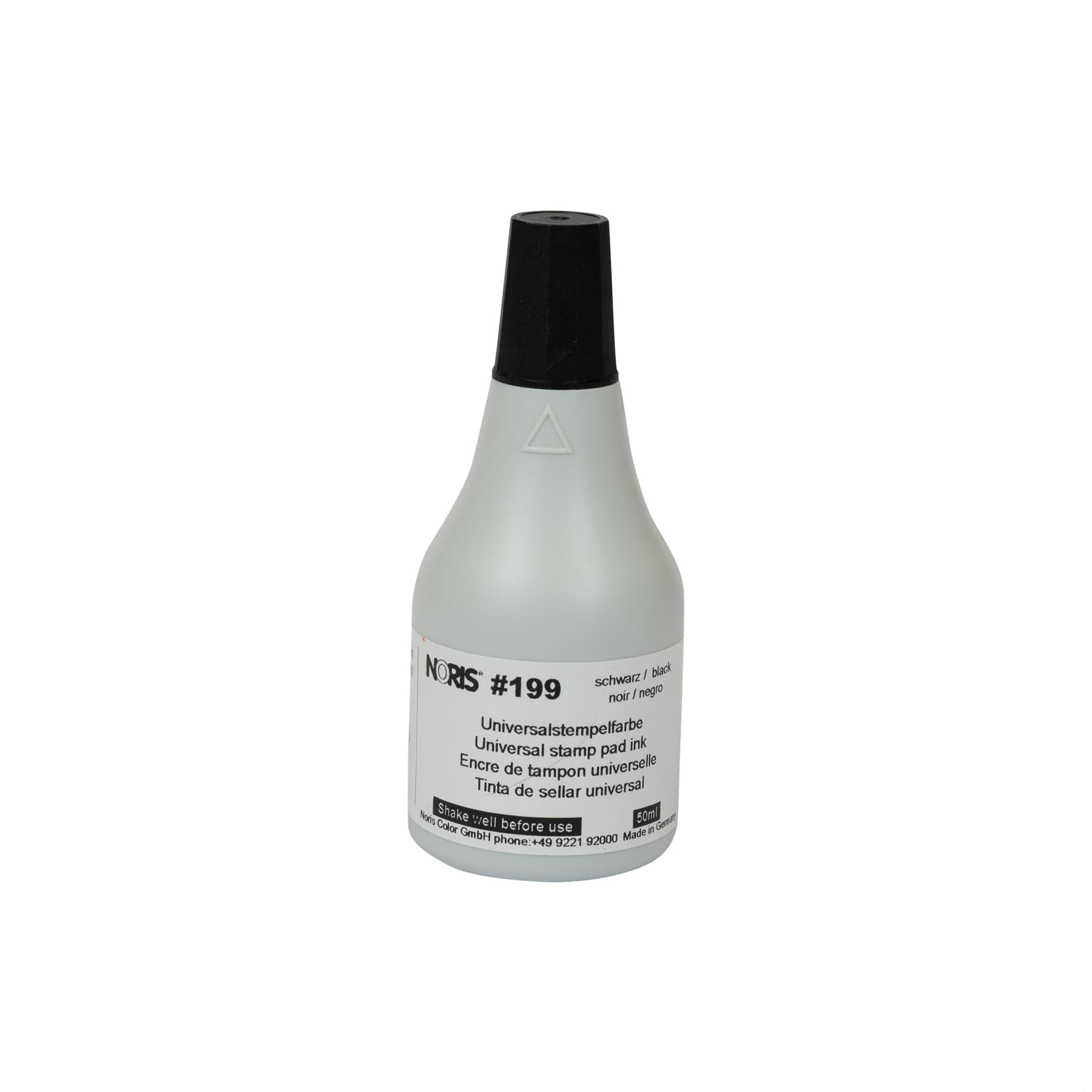 Stempelfarbe 199 schwarz  50 ml schnell trocknend (50 Sekunden) wasserfest,