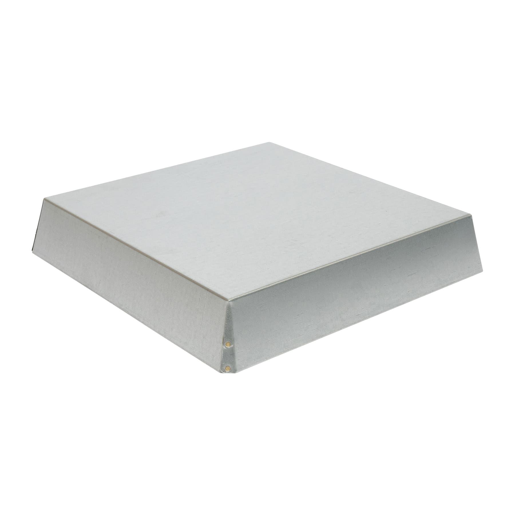 Blechdeckel verzinkt, konisch Innenmaß 317 x 317 x 65 mm für Mini Plus