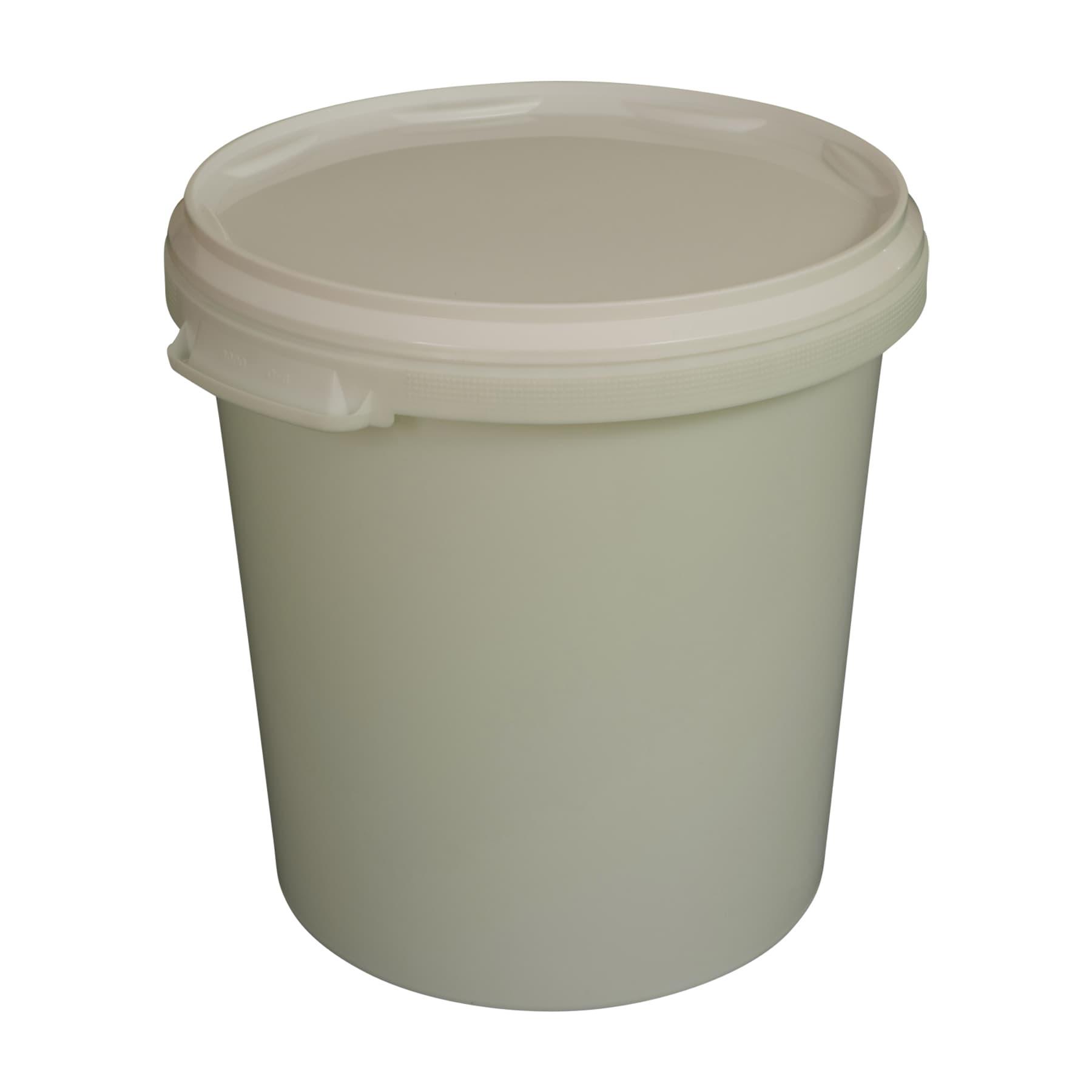 Hobbock 40 kg, Kunststoffeimer ca. 30 l mit Deckel für ca. 40 kg Honig