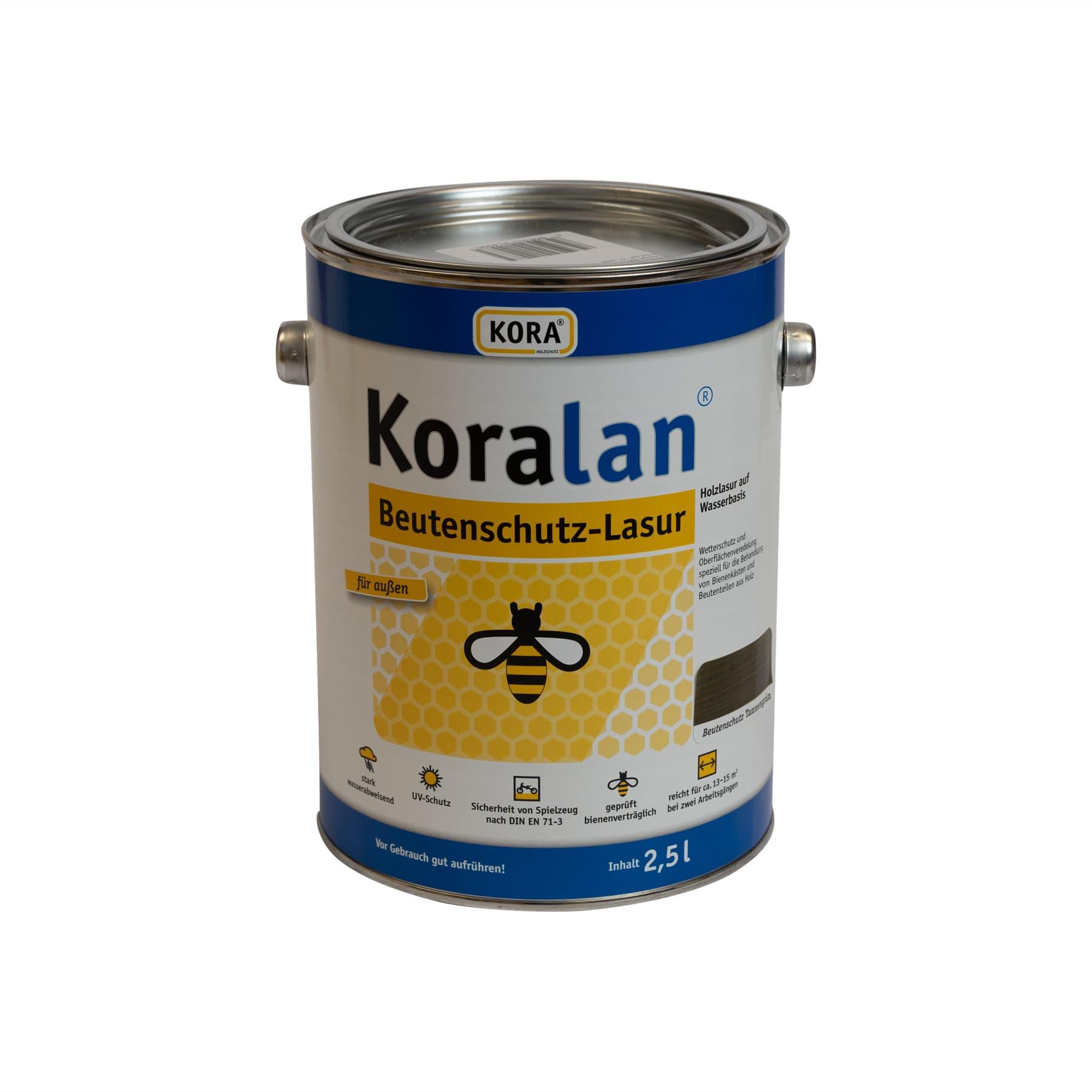 Koralan Beutenschutzlasur Tannengrün 750 ml