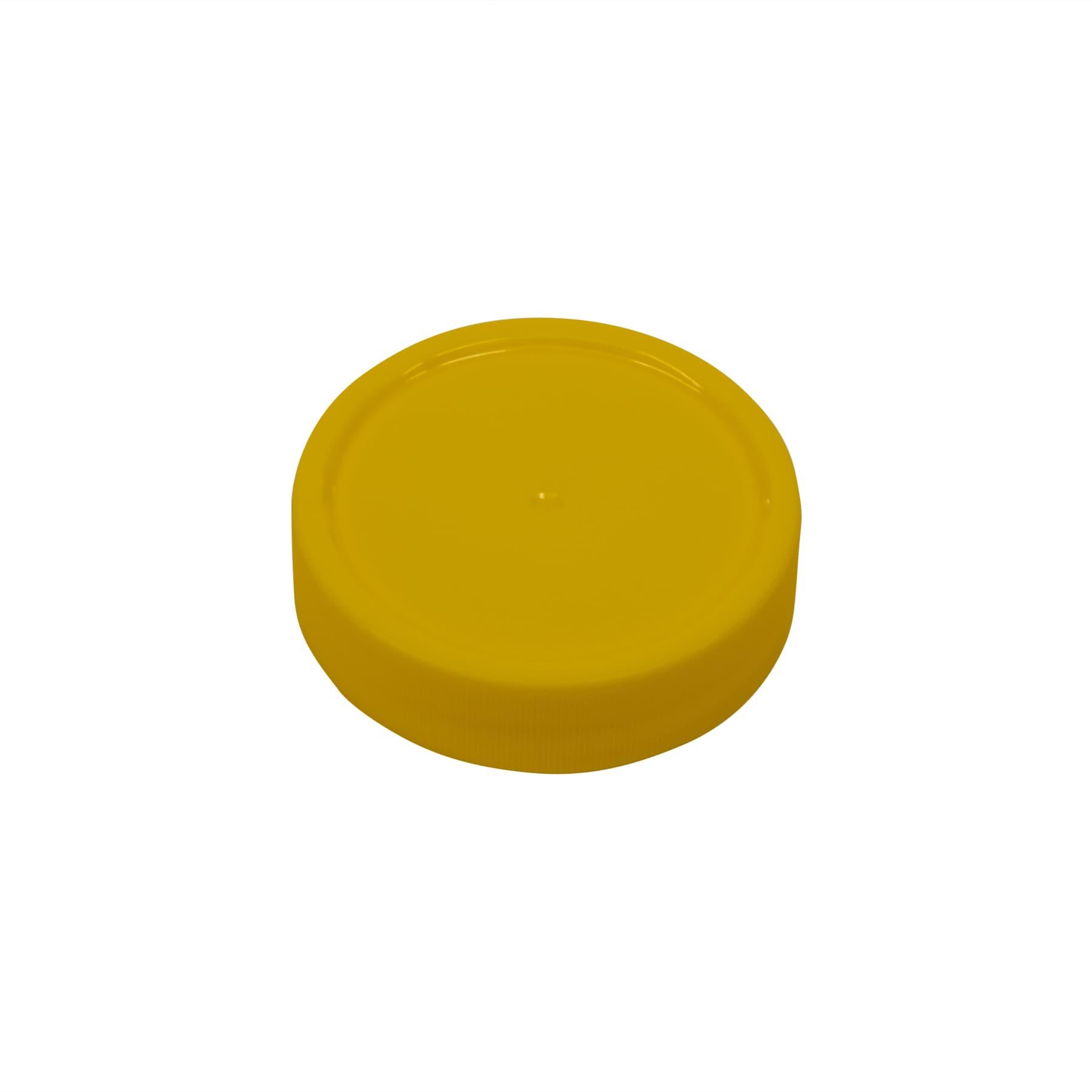 Schraubdeckel Kunststoff 68 mm (gold oder gelb)