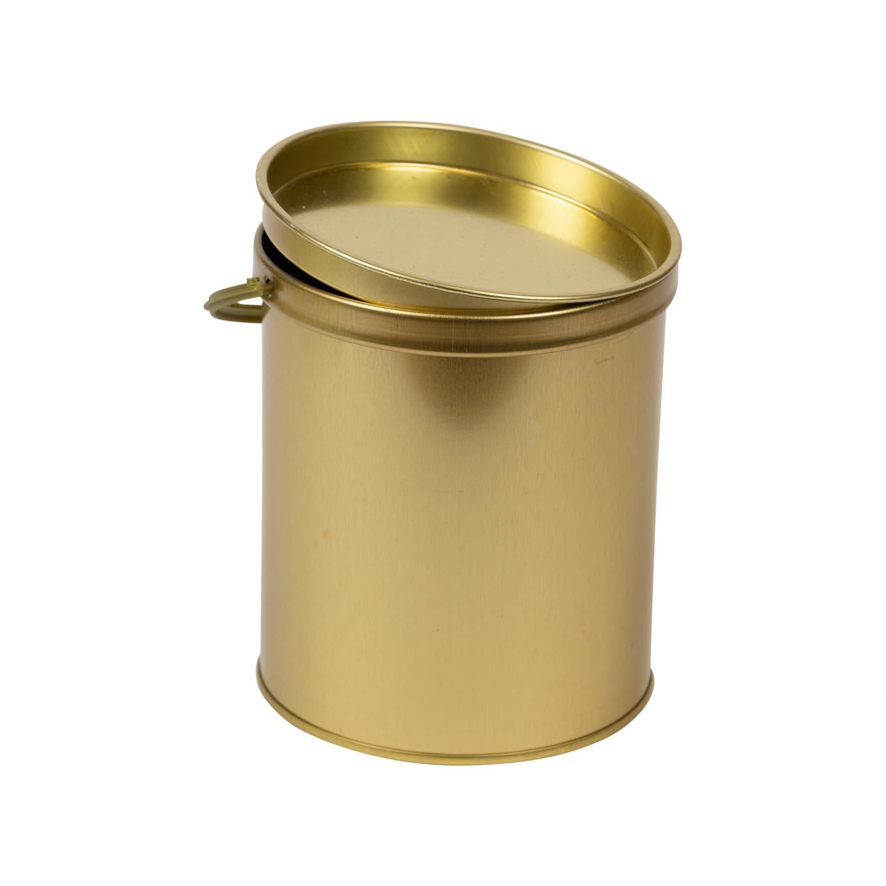 Honigeimerchen 1 kg Blech goldlackiert