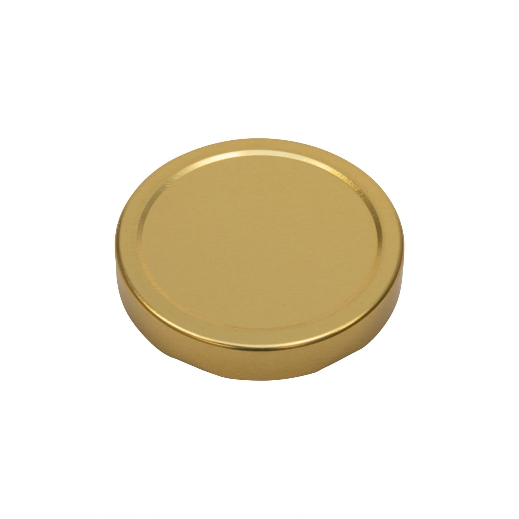 Deep Twist off Deckel gold 82 mm, Achtung passen nur  auf unsere Twistoffgläser mit erhöter TO Randmündung,