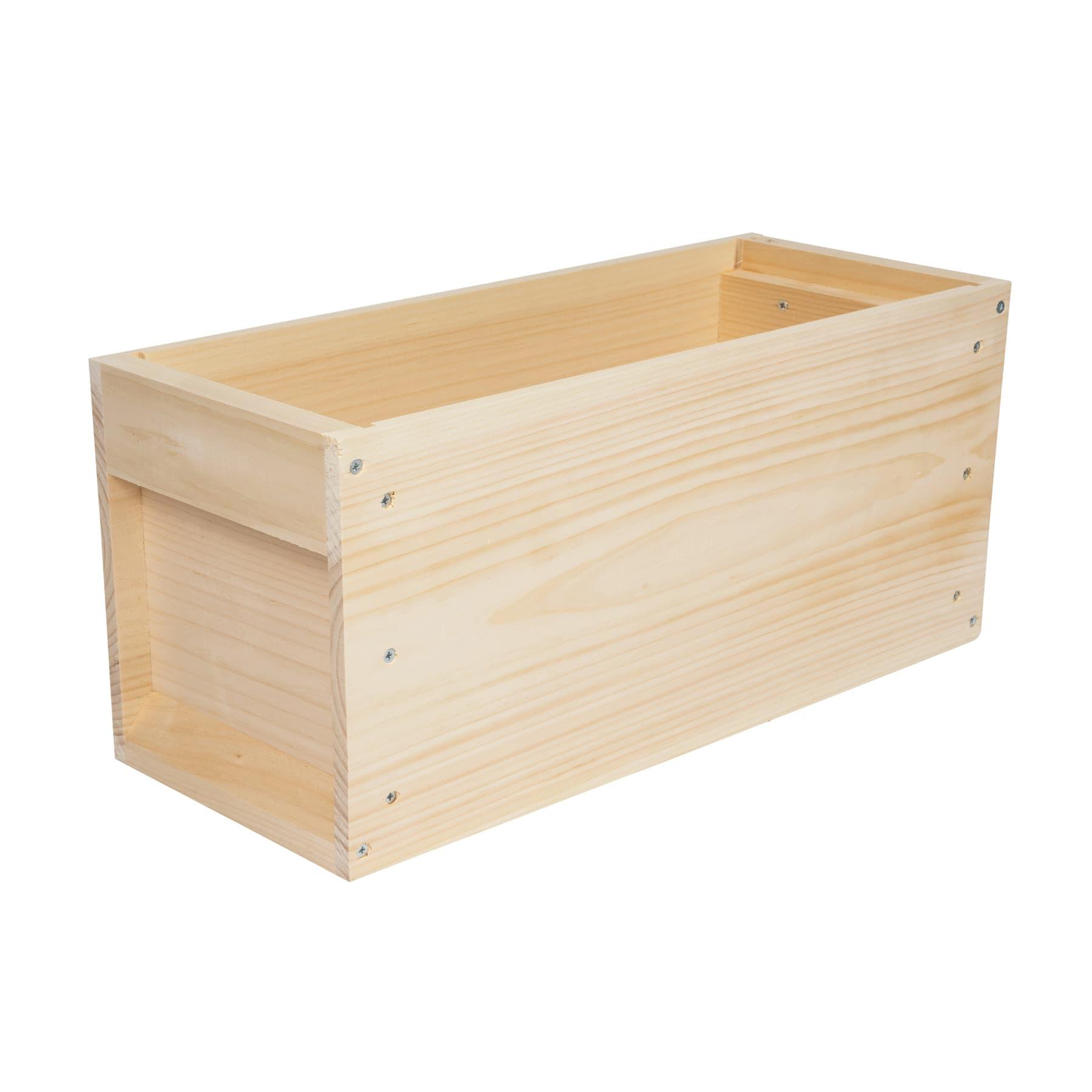 Vertikale Halbzarge, Zander Liebig, für 5 Rähmchen aus Weyhmouthkiefernholz