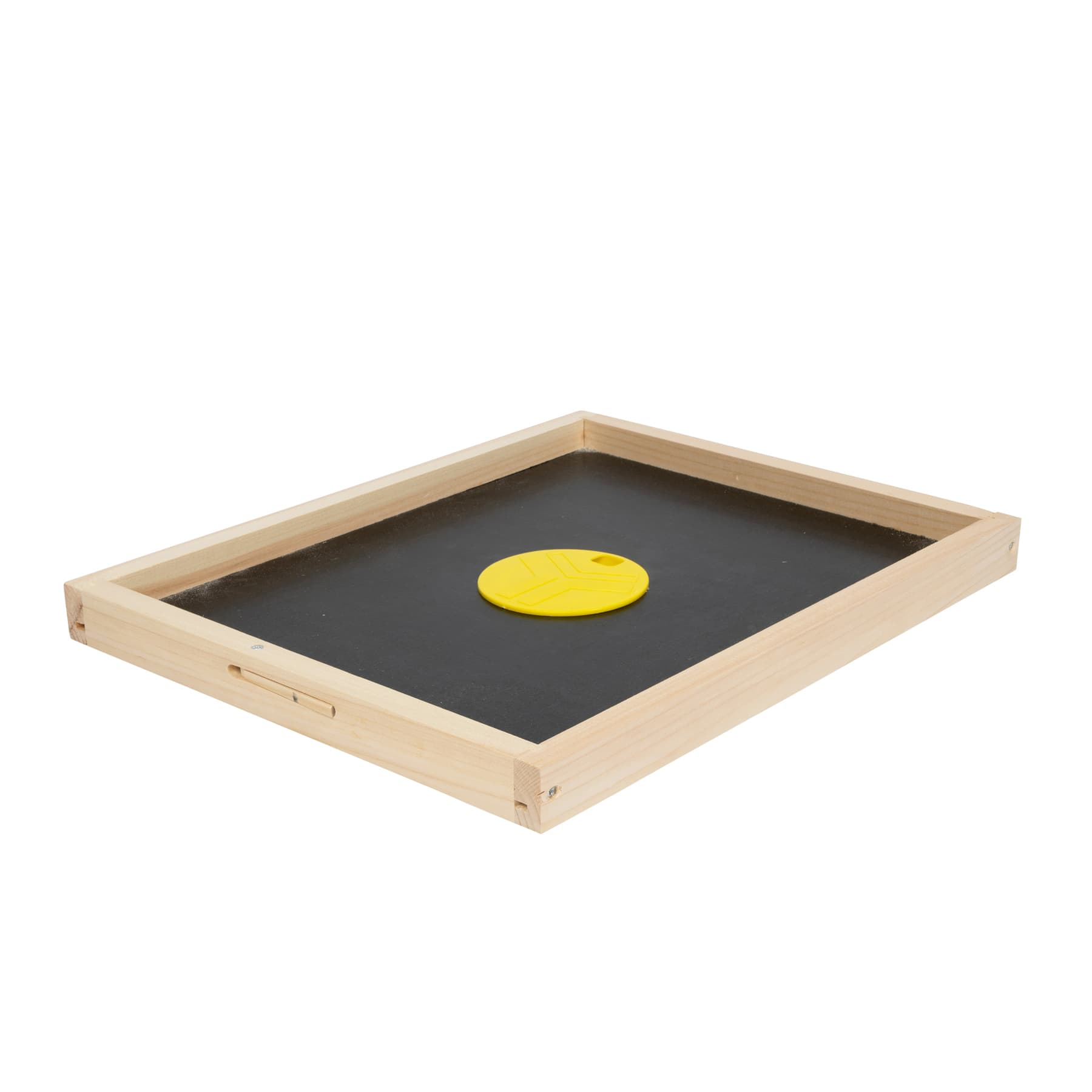 Bienenfluchtdeckel mit kleiner Bienenflucht (Ringkanal), Liebig Beute DN