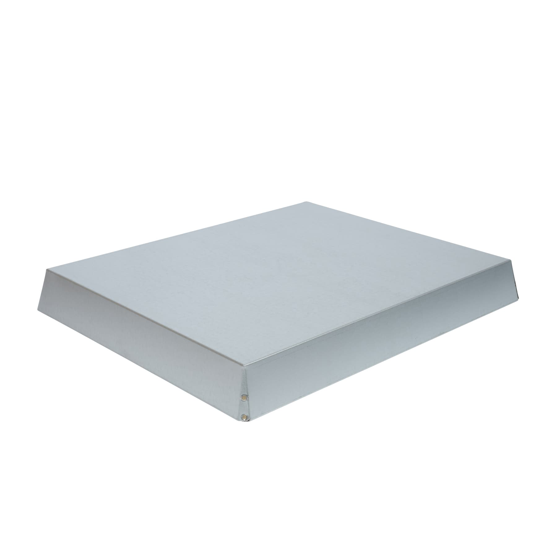 Blechdeckel verzinkt konisch Innenmaß 425 x 525 x 65 mm für Liebigbeute Zander, Beste Qualität 0,7 mm dick, Made in Germany!
