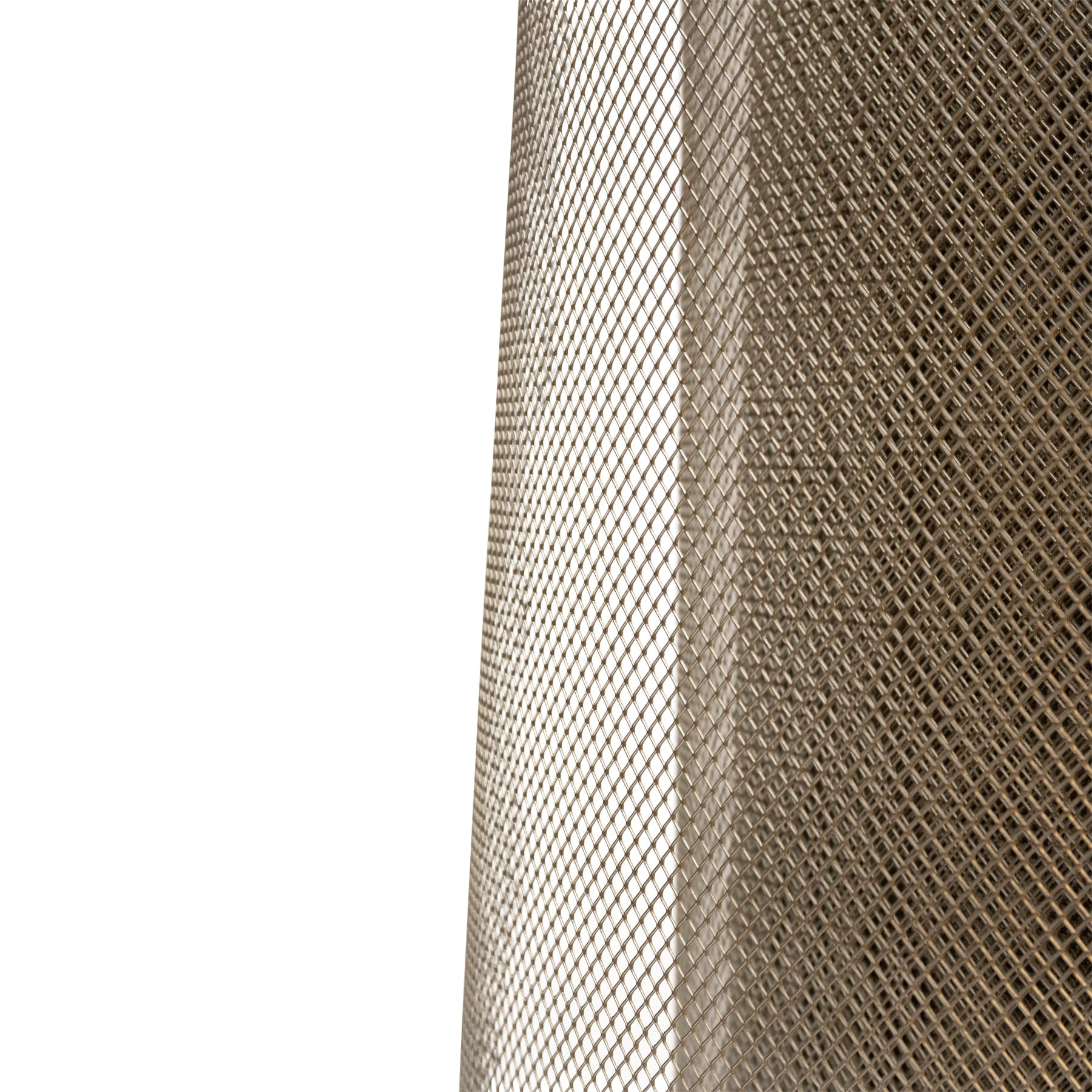 Edelstahlstreckgitter, bienendicht, Rollenware, 100 cm breit lfdm