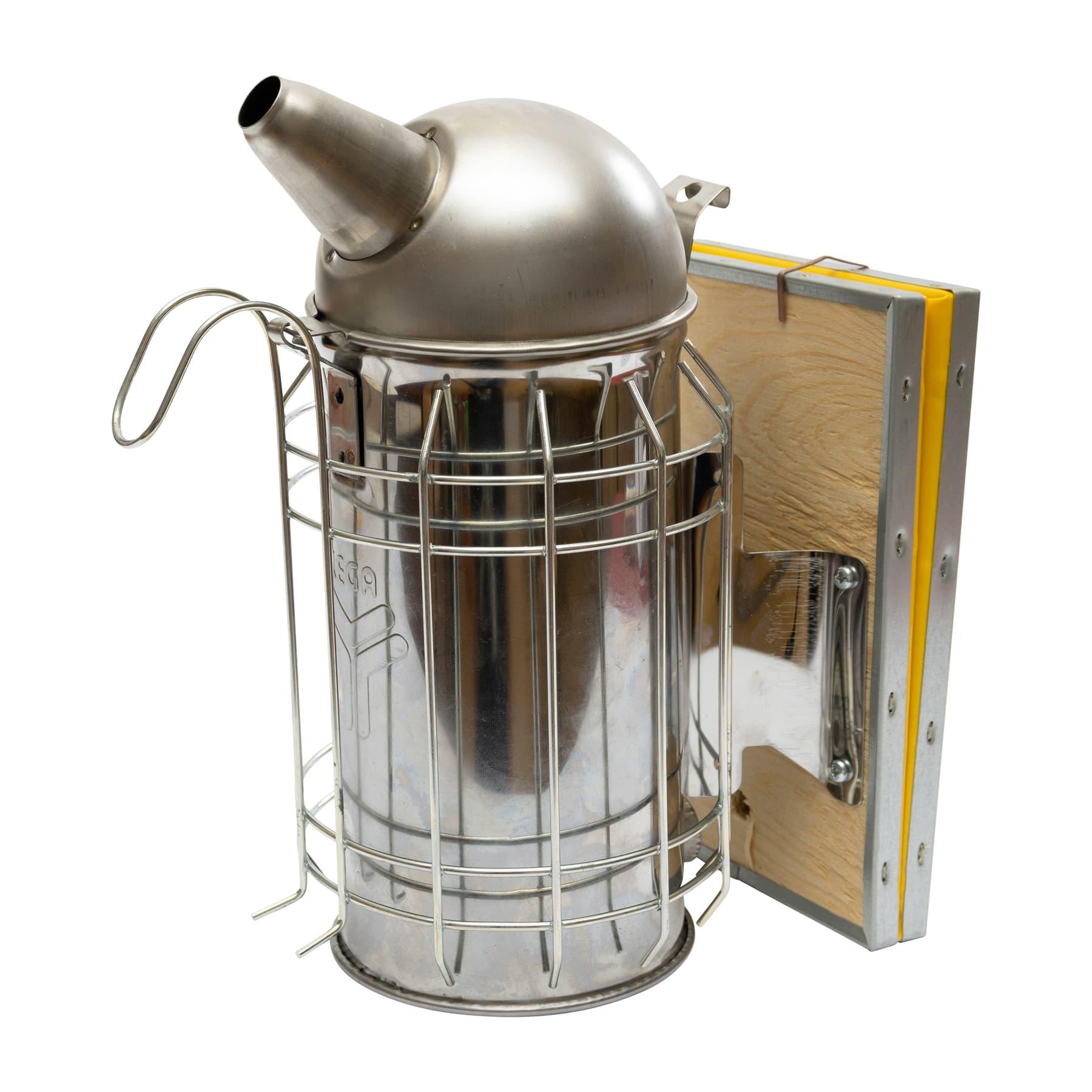 Edelstahl-Smoker (Rauchbläser), 10 cm Durchmesser