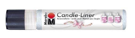 Candle - Liner, 25 ml von Marabu 590 glitter-opal