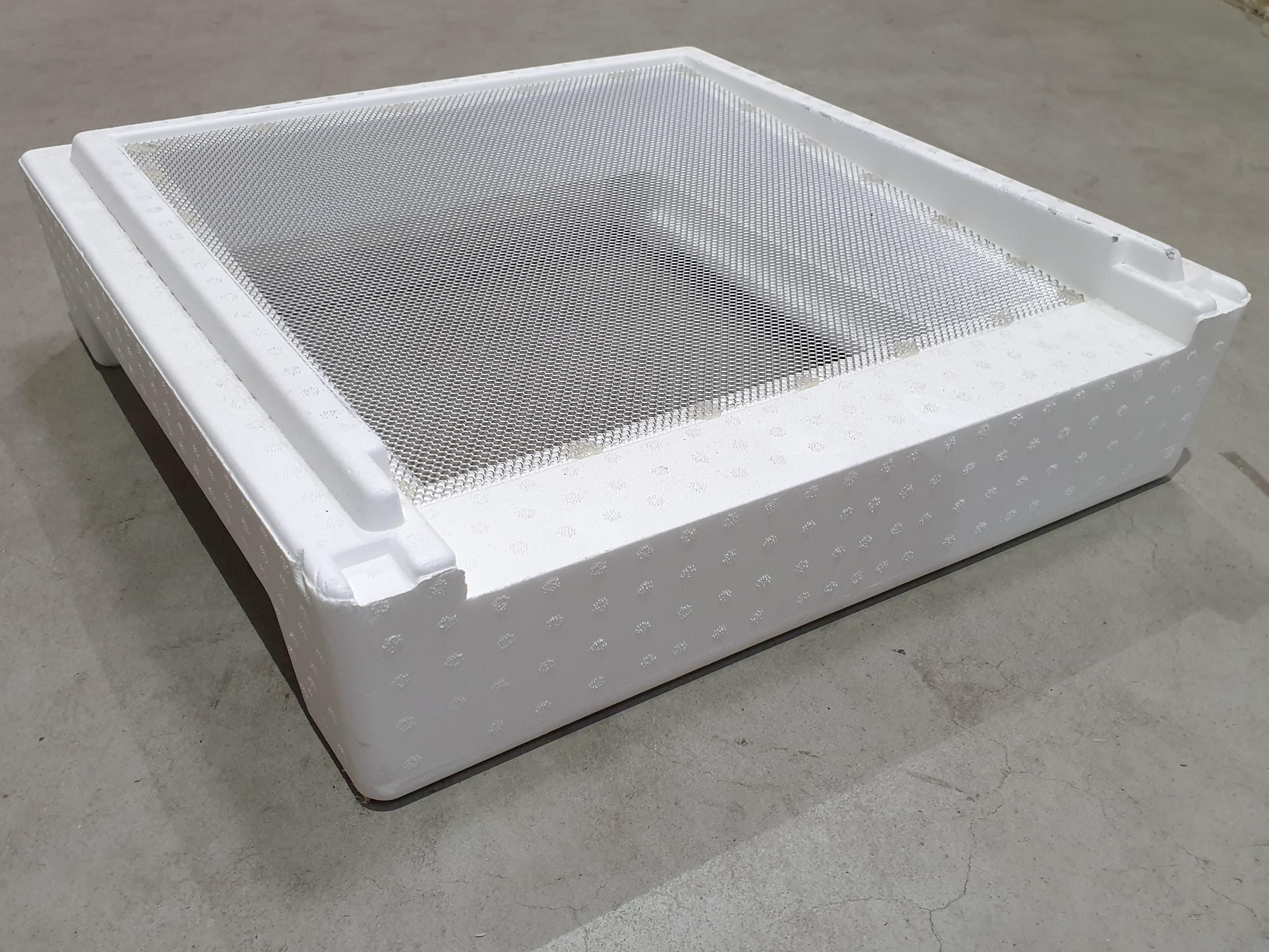 Segeberger Universalboden mit Alugitter ohne Rahmen (von Stehr)