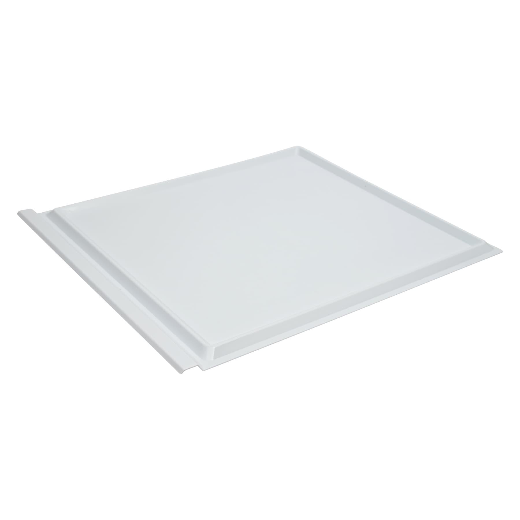 Varroauntersuchungswanne Kunststoff weiß, als Schieblade f.  Dadantbeute modifiziert 12 Waben Maße: 470 x 410 x 9 mm