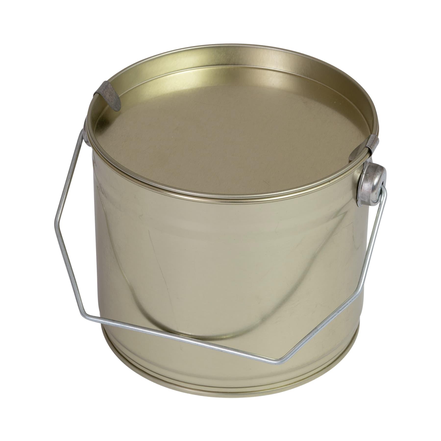 Honigeimerchen 1,5 kg Blech goldlackiert