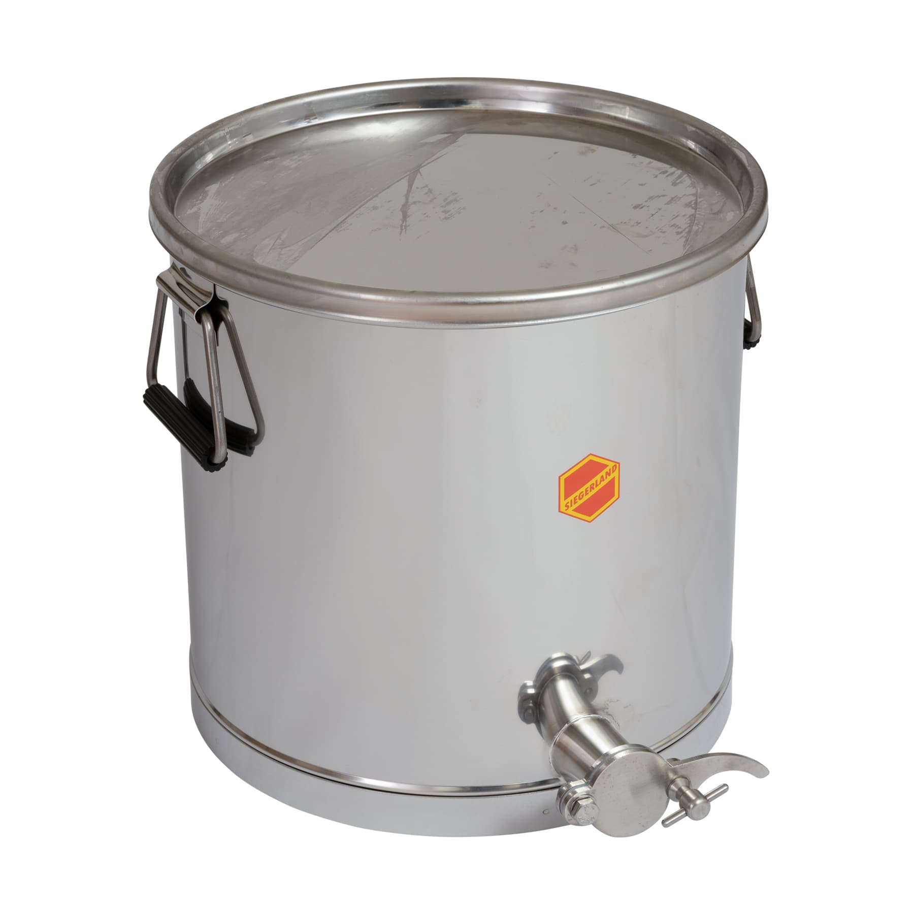 Abfüllbehälter 35 kg mit Auflagedeckel
