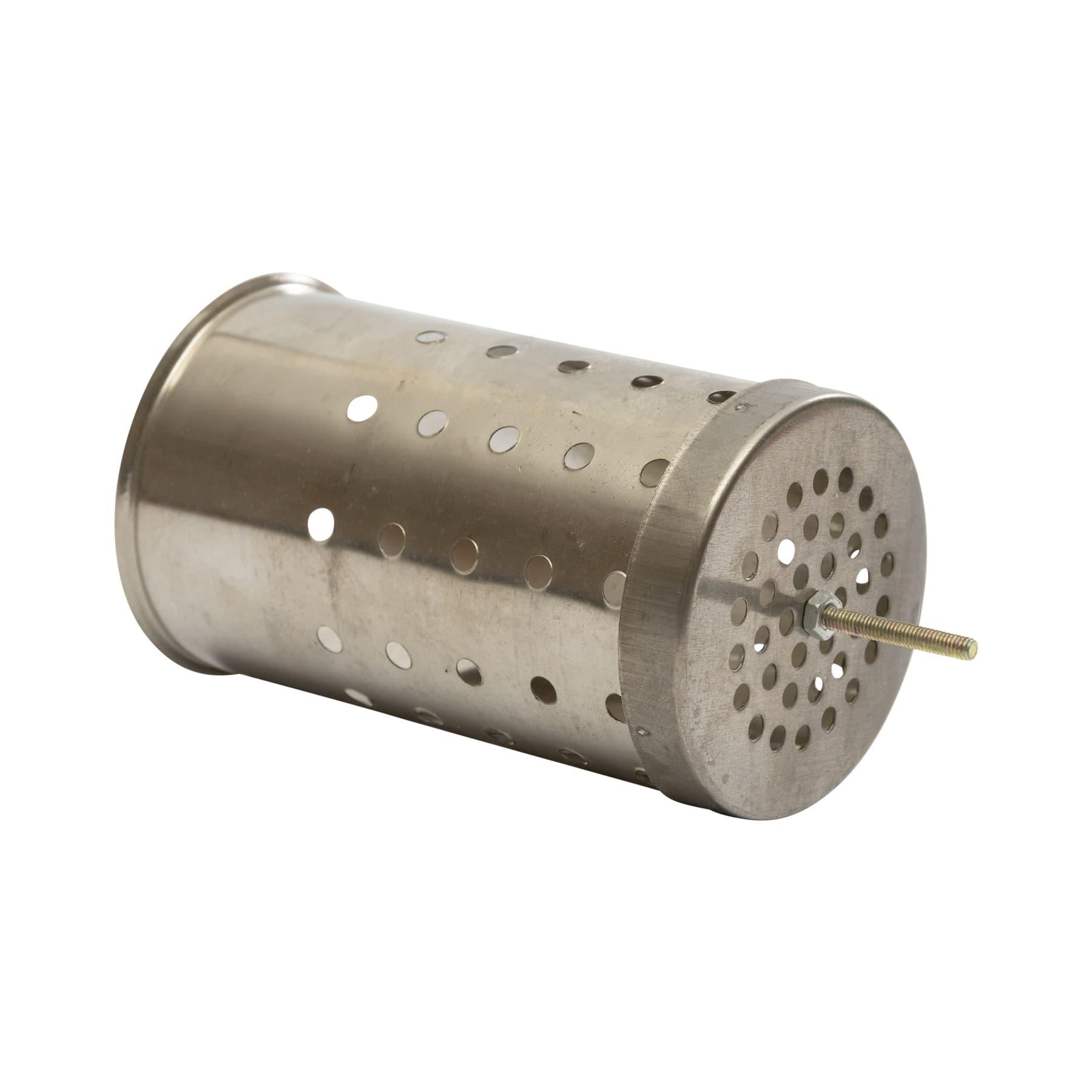 Innendose, gelocht, für Rauchbläser 8 cm Durchmesser als Ersatz